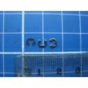 Płytka osadcza (boczna) fi 1,9 mm