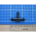 Trójnik plastikowy fi 8 mm