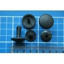 Kołek rozporowy fi 6 mm, czarny